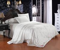 Wholesale Hot selling queen size cotton blanket cotton fabric quilt Summer Quilt x230cm size silk floss filling quilt