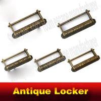 antique escape - Alphapbet code lock Takagism real life room escape prop antique letter code lock combination locker
