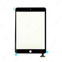 Wholesale 100 Tested White Black For iPad Mini Touch Digitizer Screen Glass Touch Panel