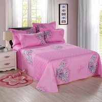 asian comforter sets - Purper butterfly bohemia boho duvet bedding set luxury kids girls bedding pure cotton bedsheets asian bedding queen bed linens