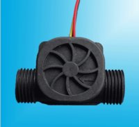 Wholesale mm Impeller Water Flow Sensor Fluid Flowmeter Switch Counter L min Meter