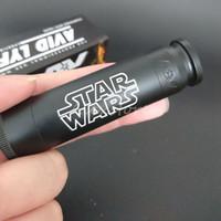 Wholesale New Able Mod Star Wars AV style Mech Clone fit Battery Colors Brass Material Engraved with AV Mechanical Vape Mod DHL
