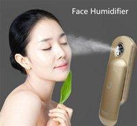 Wholesale Skin Care Tool Nano Skin Handy Mist Spray Atomization Facial Humectant Mini Moisturizing Beauty Equipment face steamer Gift