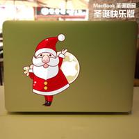 Wholesale Santa Claus Saint Nicholas Vinyl Local Decal Sticker Skin for Apple MacBook quot air11 quot quot Pro13 quot quot quot Retina13 quot quot