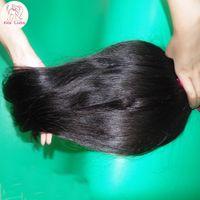 african hair weaves - New African Girl MaMa Love Sleek Weave Straight Virgin Brazilian Human Hair Extension A Best DHgate Hair