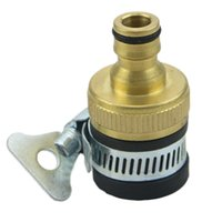 Wholesale Universal Garden Lawn Water Tap Connector Adapter Hose Tube Pipe Quick Join New Y102