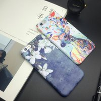 abstract illustrations - PC Snap Case Hand drawn abstract fashion illustration phone case for iphone s inch protective shell unique style anti knock