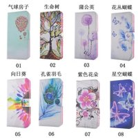 balloon holder - For LG V10 G5 For Galaxy J5 Bling Diamond Flower Dandelion Wallet Leather Holder Case Sunflower Feather Balloon Flip Cover Card ID Pouch