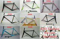 Wholesale EVO style design frames road bike bicycle road carbon frameset with K BB30 BB68 available