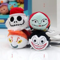 Wholesale Tsum Cosplay Halloween Tsum Plush Toy The Nightmare Before Christmas plush toy Pendant The Nightmare Before Christmas plush Screen Cleaner