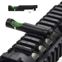 Wholesale Level Mount Alloy Spirit Level Tool Balance Beads Counterpoise For mm mm Rail Rifle Airsoft Scope Laser Ring Mount