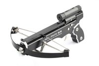 arrow metals - Mini Crossbow Hunting Bow Arrow Smallest Hunting Crossbow Full Metal Arbalest Chasse Hunting Powerful Slingshot gun