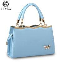 Wholesale SHYAA New Women Bag Handbag Ladies Korean Ribbon Fashion Crossbody Shoulder Bag Women Messenger Bag
