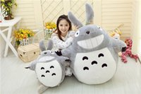 Wholesale Plush Dolls Childrens Toys Cartoon Grinning Totoro Plush Doll Birthday Lovely Totoro Doll Large Totoro Pillow Plush Toy Doll