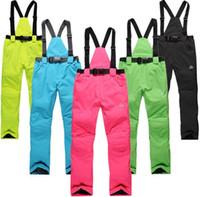 Wholesale Skiing BIB Pants for men and women Outdoor ski pants high quality snowboard winter skiing pants hiking ski pants