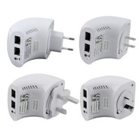 Wholesale 802 AC750Mbps Concurrent Dual Band Mini Wifi Router Repeater Extender UK Plug