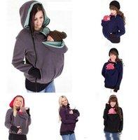 Wholesale Kanaroo jacket bggies hoodie coat pullover hoodie baby kangaroo bag pregnant women pregnant women pregnant women winter overcoat
