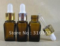 Wholesale essential oil bottle ml square essential oil bottle ml glass bottle