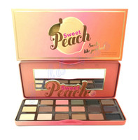 palette 18 color - HOT NEW Sweet Peach color Eye Shadow Makeup Eyeshadow Palette GIFT dhl