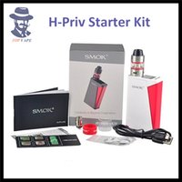 basic display - Authentic SMOK H Priv W Mod and Starter Kit with Micro TFV4 Basic Tank Top Filling and Top Display Screen Innovative Fire Bar