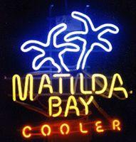 beer tube cooler - Matilda Bay Cooler Beer Neon Sign Custom Handmade Real Glass Tube Store Beer Bar KTV Club Pub Advertising Display Neon Signs quot X17 quot