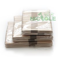 Wholesale Nicole popsicle ice cream sticks of wood popsicle stick ice cream stick DIY manual model material of wood cigarettes