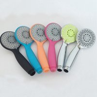 Wholesale ABS Multi Color Small Shower Head Handheld shower head Bathroom Hand Held Bathroom Shower Heads