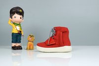 Wholesale Kids Boost kids Shoes Kanye Boost low Children s Athletic Casual Shoes gray Boys Girls