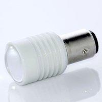 Wholesale Warm White LED BA15S P21W T25 Car Reverse Turn Signal Rear Tail Brake Light Bulb