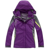 Wholesale 2016 Softshell Fleece Jacket Camping Hiking Coat Women s Outdoor Waterproof Breathable Sport Clothing COLORS