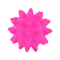 Wholesale 2016 Pet toys Colorful Rubber Toys Sea Urchin Ball Meteor Ball Sounding Toy Dog Toys