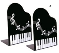 Wholesale exquisite music notes stationery piano music notes book holder