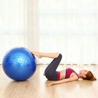 balanced body yoga - Yoga Ball yoga balance ball yoga ball Fitness Appliance Exercise point massage Massage Yoga Ball Fitness Body building Tool cm