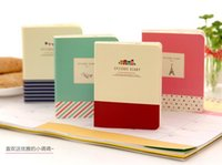 Livraison gratuite! Nouveau Voyage Diary Book / Paper Notebook / Bloc-notes simples / Colorful Pages Inner / Mode