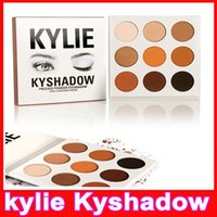 Wholesale Kylie Jenner Kyshadow eyeshadow Pressed Powder Bronze Kit Eye shadow Palette Bronze Preorder Natural Brighten Makeup make up Colors