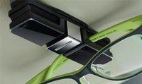 Cheap Sunglasses Holder Clip For Car Sun Visor Eyeglasses Glasses Ticket Holder With Retail Package