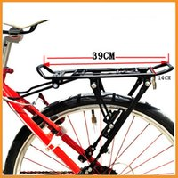 alloy bike carrier rack - High quality Cycling MTB Bicycle Carrier Rear Luggage Rack Shelf Bracket Aluminum Alloy for V brake Bike Dropshipping