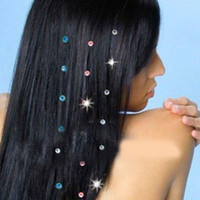 Wholesale New Fashion Headband Crystal Hair Diamonds Iron on Jewelry Pack of Gems Stone for Wedding Hair Accessories Glass Rhinestone
