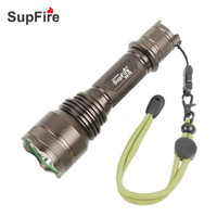 best powerful led flashlight - SupFire powerful flashlight using imported CREE LED W tactical high power aluminum alloy rechargeable powerful best LED torch light