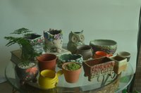 Wholesale Garden Supplies Planters Pots ceramic terracotta good quality and cute look