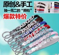 Wholesale Hot DIY Car Keychains Personalized Key Rings Don t Include Slide Letters Charms