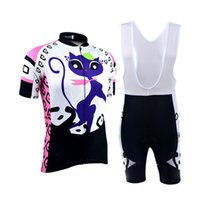 bicycle jerseys women - BXIO Cycling Jersey Pro Team Funny Cat Cycling Clothing Women Short Sleeve Bicycle Clothes Ropa De Ciclismo BX P044