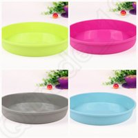 Wholesale 30PCS MMA37 Round Silicone Pizza Pan for Baking Wedding Cake Pizza Pie Bread Loaf for Microwave Oven