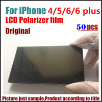 Wholesale 50Pcs Original Polarizer Polarizing Polarized Film diffuser for iPhone S S C S Plus inch replacement