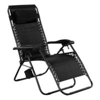 beach chaise lounge chair - Folding Zero Gravity Reclining Lounge Chairs Outdoor Beach Patio Yard New
