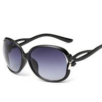 advanced goggles - Hot Fashion Frame Sunglasses Women Sunglasses Decoration Big Box Bow Advanced Charming Metal Lady Outside Eyewear Polarized Glasses