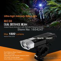 Wholesale Fenix BC30 Cree XM L2 T6 Neutral White LEDs lumens Ultra high Intensity Bike Light Rescue Search Flashlight