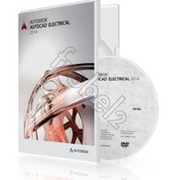 autocad software - 2014 Autodesk AutoCAD Electrical English version software bit and bit for win os Color Box Package