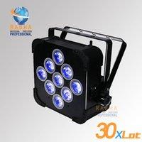 auto remote controls - 30X New Rasha High Quality Panta W in1 RGBAW Battery Powered Wireless LED Par Light With IR Wireless Remote Control For DJ Event