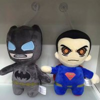 best batman comics - 12pcs Plush Figures Batman Superman The Avengers DC Plush Toys Kids Best Gift cm
